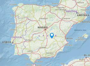 Villarobledo map