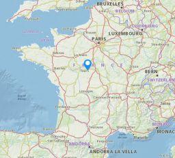 Aignan map