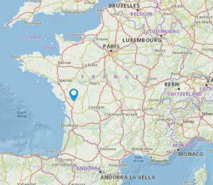 Niort map