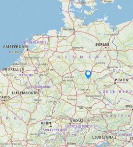 Nordhalben map