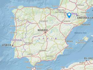 Torreciudad map