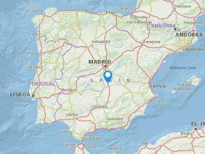 Madridejos map
