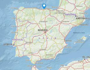 Revilla de Camargo map