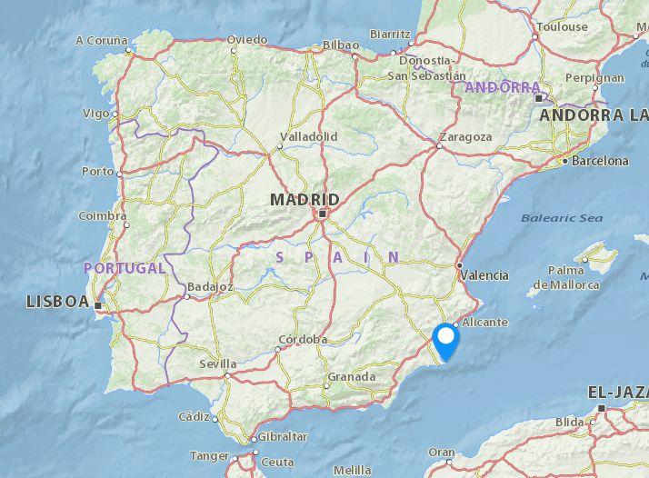 mapa de espanha la manga Lace Event Spain: Concentración Anual de Bolillo, La Manga  mapa de espanha la manga